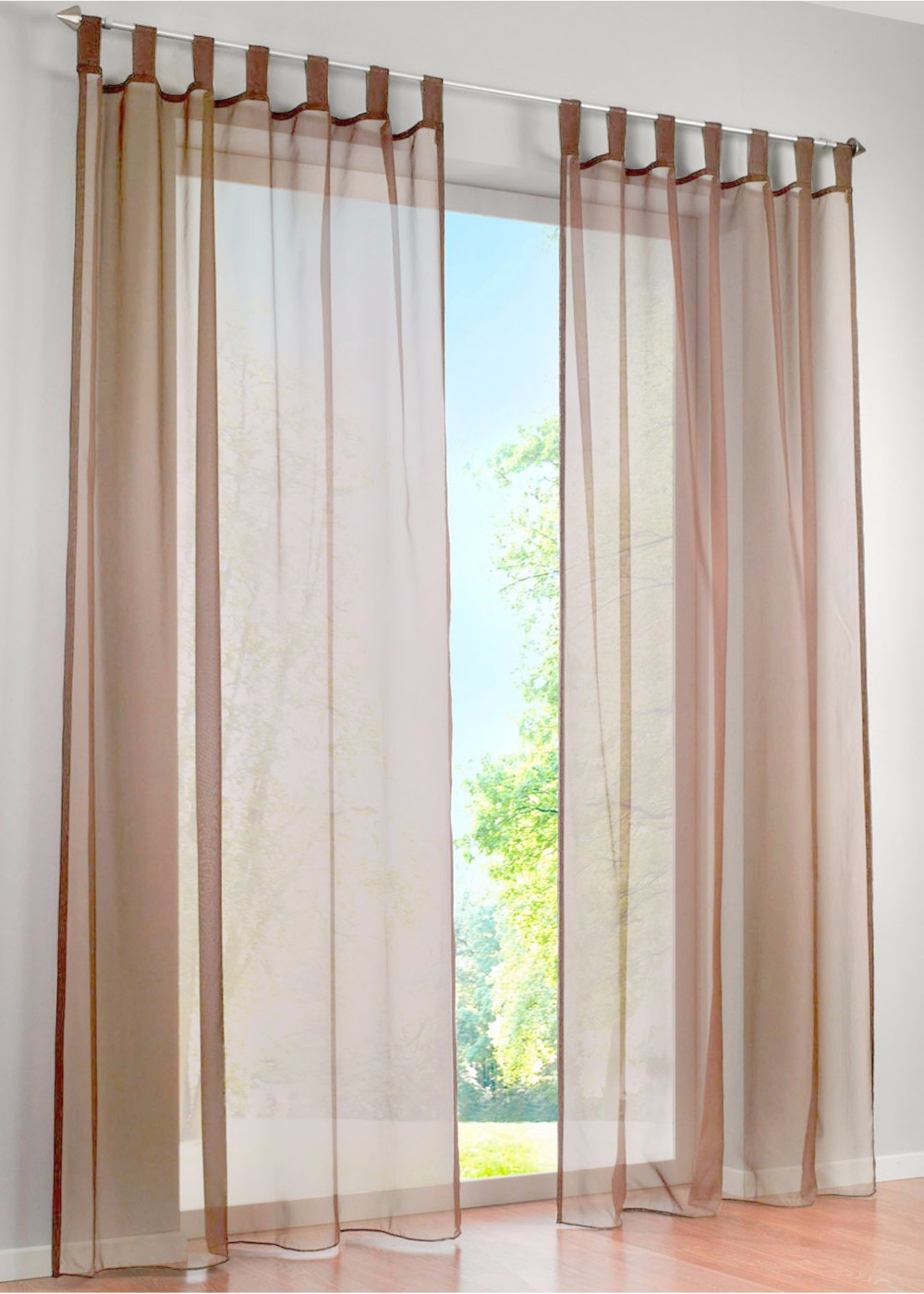 Simple window curtains - Hot Sale High Quality Western Simple Voile Solid Color Sheer Window Curtains Free Shipping A Pair