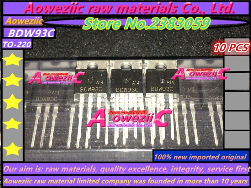 Aoweziic 100% new imported original BDW93C BDW93   BDW94C BDW94  TO220  high power Darlington transistor 100V 12AAoweziic 100% new imported original BDW93C BDW93   BDW94C BDW94  TO220  high power Darlington transistor 100V 12A