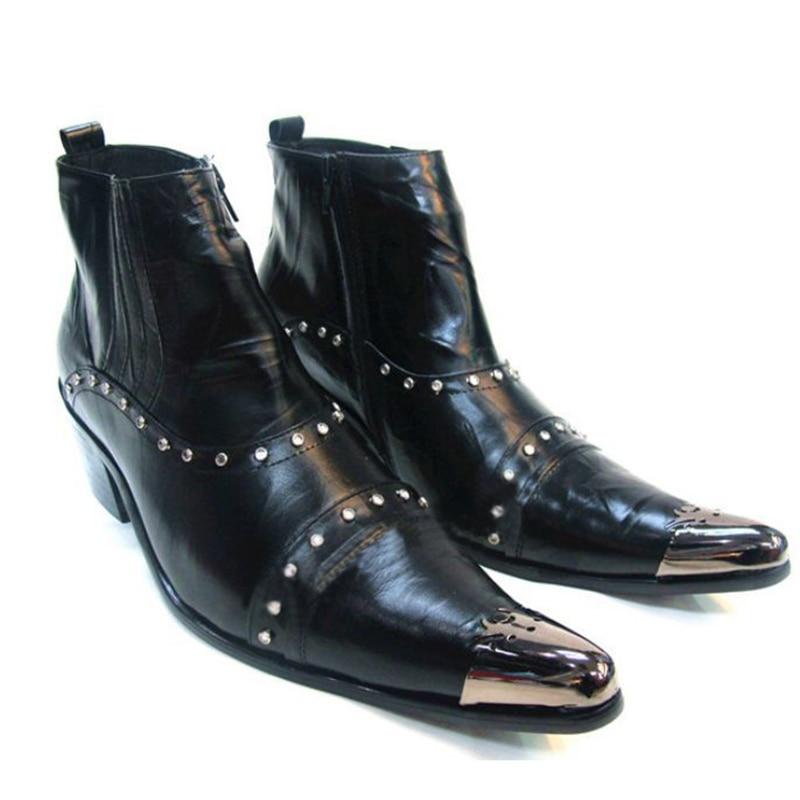 ITALIA 100% Brand New Limited Edition Martin sepatu pria sepatu bot - Sepatu Pria - Foto 3