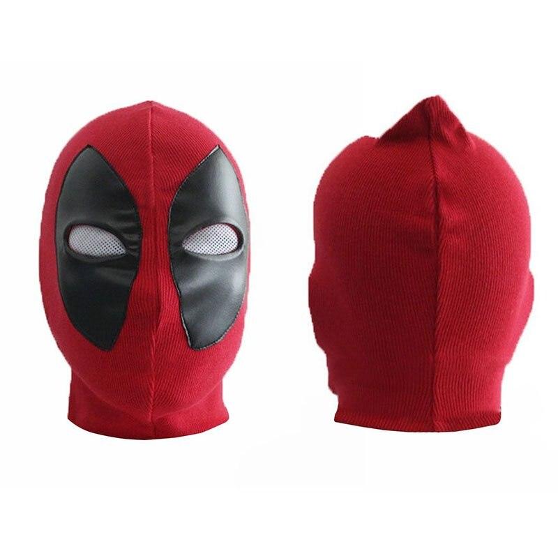Halloween Props Deadpool Mask Weapon X Superhero Balaclava  Full Face Masks Cosplay Costume Hats Arrow Death Rib Fabrics