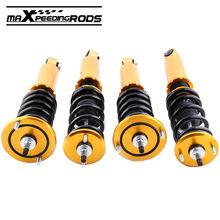Strut For Nissan Skyline R32 GTS-T BNR32 HR32 2.0L GTS-T RB20DET 89-94 Coilover Suspension Spring Shocks Damper Adjustable