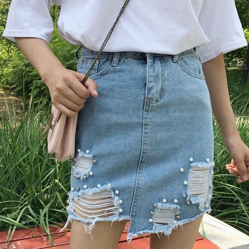 Рваные юбки 2017
