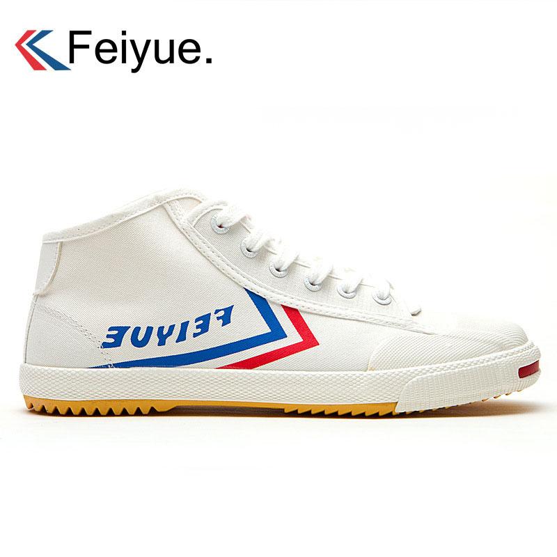 Feiyue baskets de skate originales unisexe chaussures de sport en toile classique Taichi Taekwondo Wushu Kungfu chaussures de sport