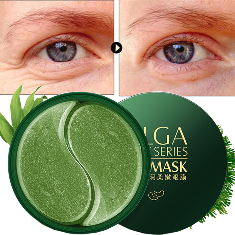 60pcs Gold Collagen Eye Mask Dark Dircles Remove Wrinkle Eye Bag Whitening Sleep Mask Moisturizing Eye Patches For Eye Face Care