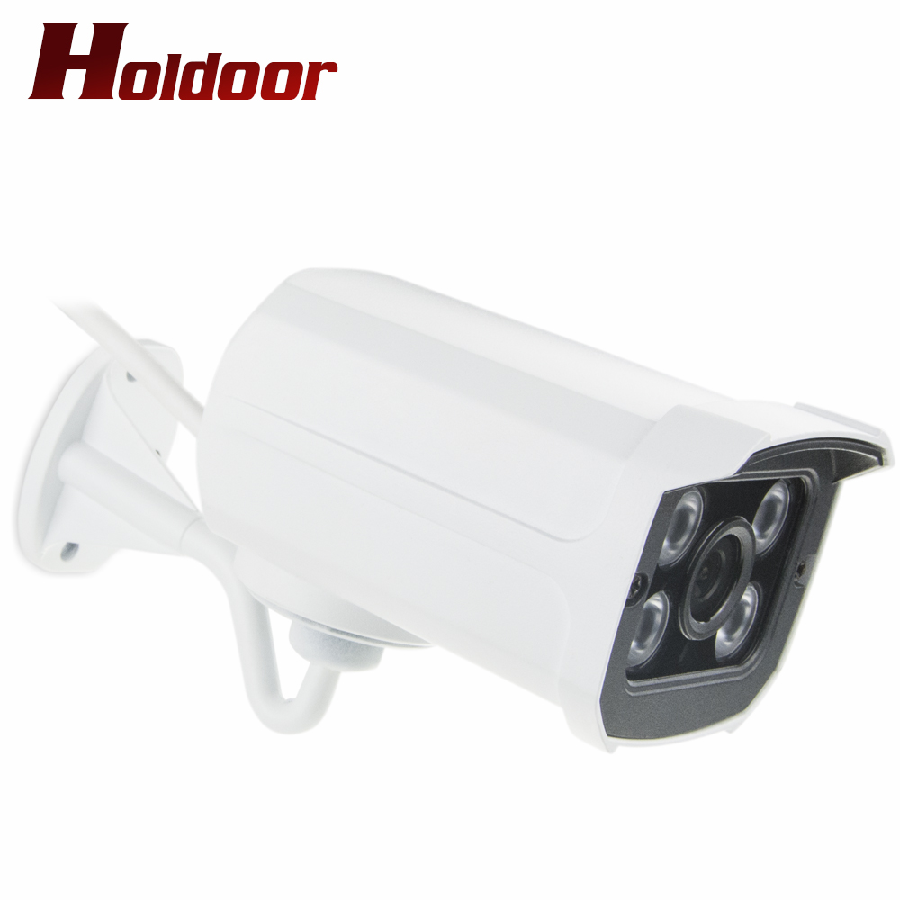Outdoor waterproof metal Bullet IP Camera 1080P Night Vision 4PCS ARRAY LED CCTV Security Camera P2P IP Cam Onvif P2P wistino white color metal camera housing outdoor use waterproof bullet casing for cctv camera ip camera hot sale cover case