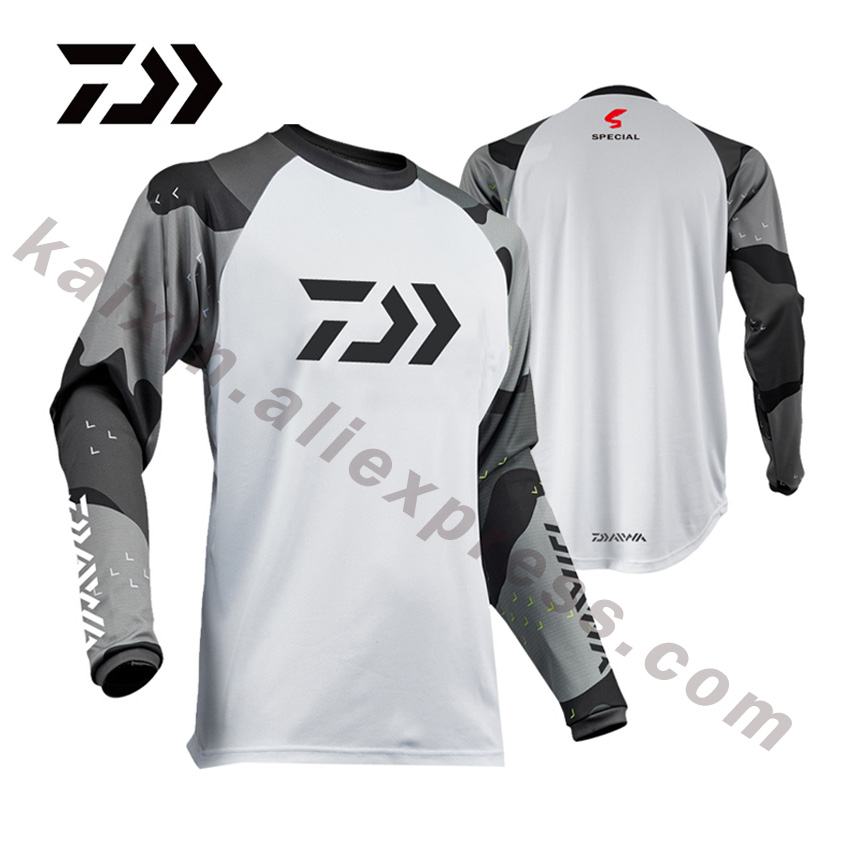 DAIWA 14 Style 2020 New Style Fishing Clothing XS-5XL Size Daiwa Clothing Fishing Shirt Anti-UV Fishing Clothes DAWA Camisas