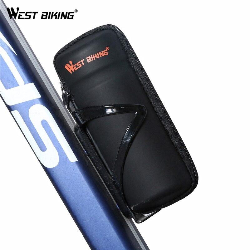 WEST BIKING Vélo Outils Capsule Apply Bouteille Cage Boîtes De Rangement en plein air Peut Stocker Clés Outils De Réparation Kit Set Lunettes Vélo outils