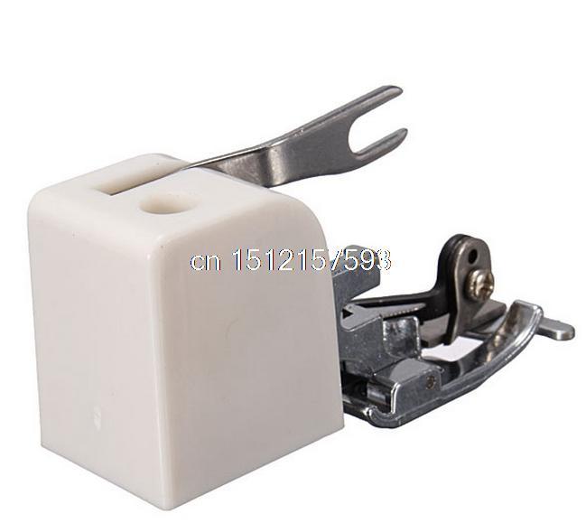 Brand New 1 Side Cutter Zig Zag Sewing Machine Attachment Foot Low Shank Cut & Hem Sharp Hot Sale