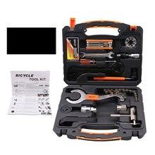 Cyrusher 26 in 1 Mountain Bike Toolbox Sets Tire Repair  Repair Tool Kits Sets bicycle Universal Home Outdoor Tools