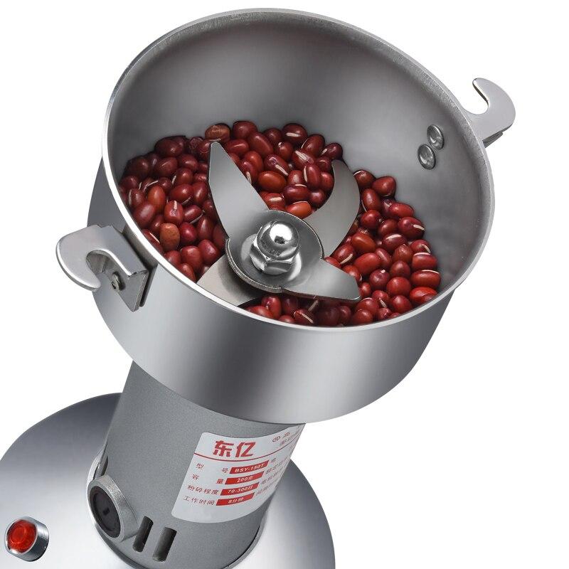 食品ステンレススチールグラインダー穀物ミキサーグラインダーパウダーマシン超微粉砕コーヒーグラインダースパイスグラインダーマシン
