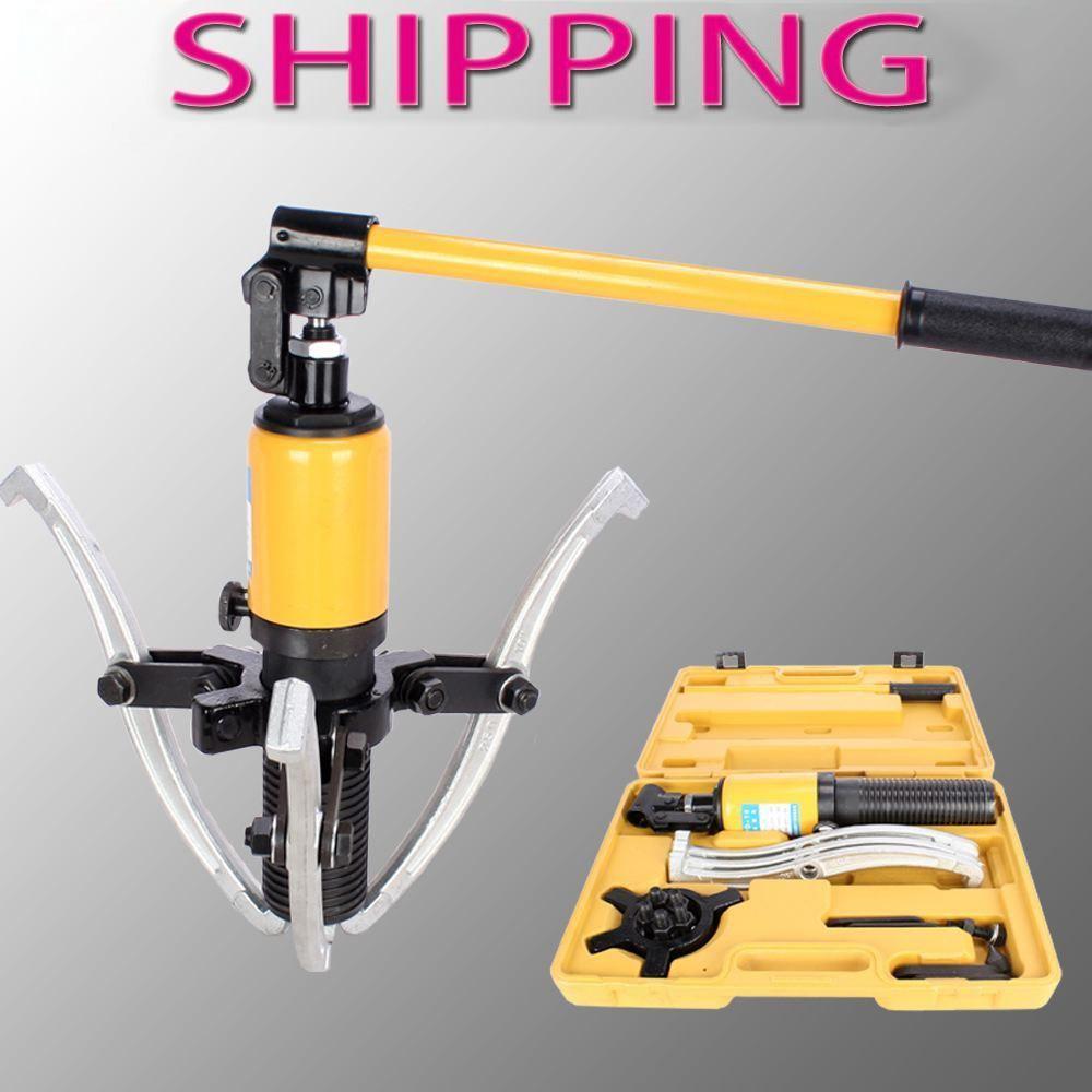 3 Jaws 10 Ton Hydraulic Separator Hub Puller Gear Bearing Garage Tool Set Kit3 Jaws 10 Ton Hydraulic Separator Hub Puller Gear Bearing Garage Tool Set Kit