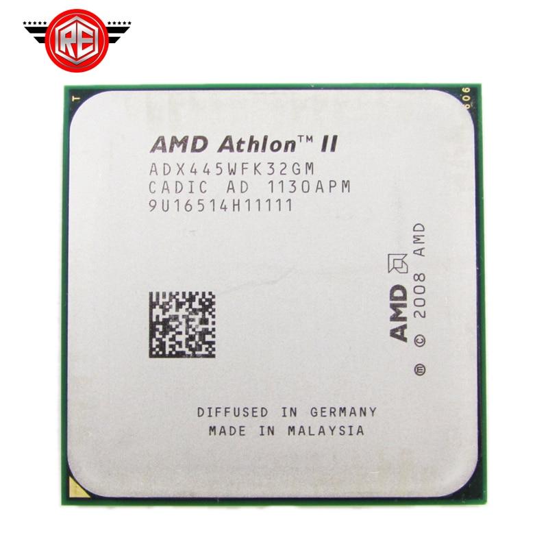 Процессор AMD Athlon II X3 445 процессор 3.1 ГГц 1.5 МБ L2 Кэш Socket AM3 тройной-core разрозненные части процессора