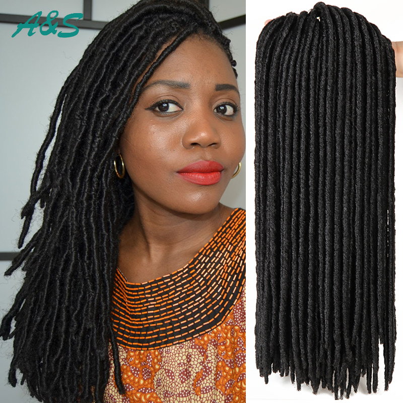 Crochet Braids Faux Locs : crochet faux locs braiding hair crochet braids 18 faux locs crochet ...