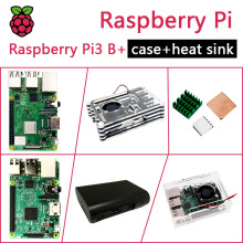 In Stock New Raspberry PI 3 Model B+/B Package Include Raspberry Pi 3 Model B/B PLUS & Case & Heat Sink