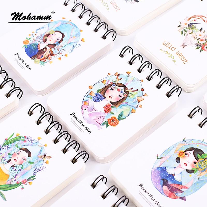 1 Pcs Random Design Cute Korean Kawaii Animal Planner Notebooks And Journals Accessories School Supply Stationery