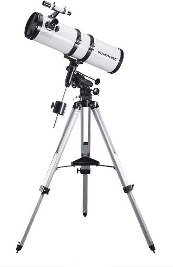 Visionking 5.9 In 150-750  Newtonian Telescope Equatorial Mount Reflector Astronomical Telescope W/Motor Drive Auto Tracking visionking 150750 150 750mm 6 equatorial mount space reflector astronomical telescope