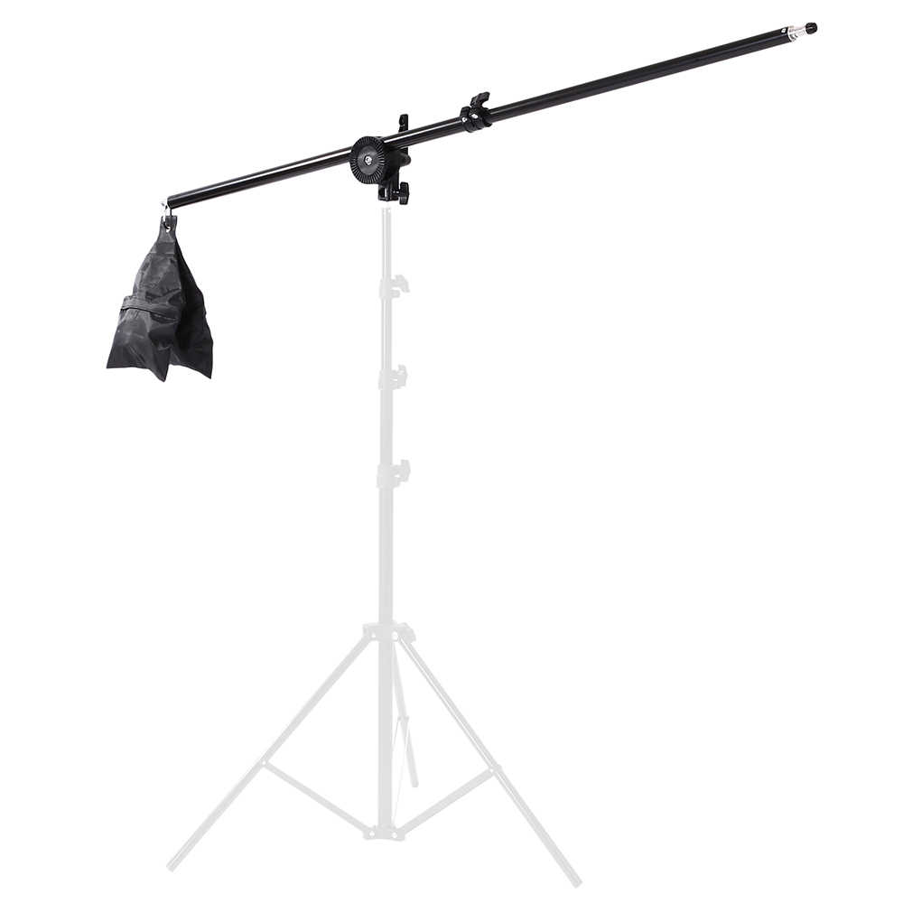 Photo Studio Dome Kit Light Stand Cross Arm With Weight Bag Photo Studio Accessories Extension Rod 75 -135CM