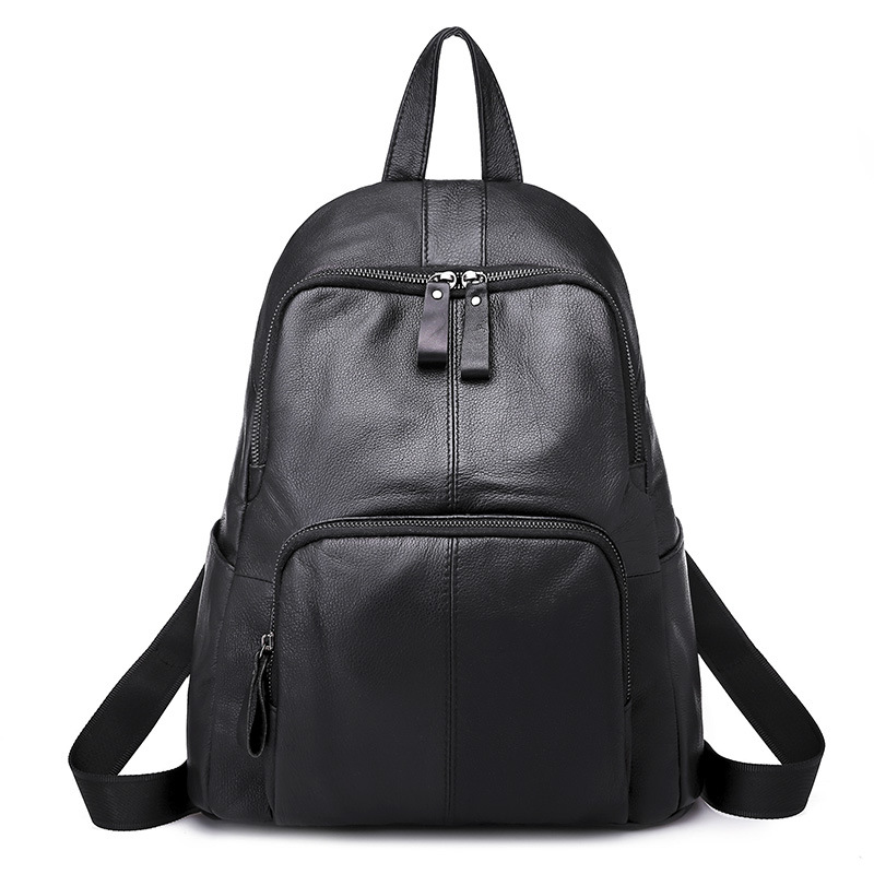 New Fashion Women Backpack Youth Vintage Leather Backpacks for Teenage Girls New Female School Bag Bagpack mochila sac EGT0101 fashion gold leather backpack women black vintage large bag for female teenage girls school bag solid backpacks mochila xa56h