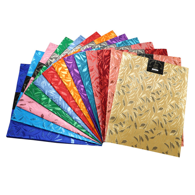 Headtie סגו אפריקאי צבע רב באיכות גבוהה, 008 2 יח'\שקית כיסוי ראש, 100% האפריקאי סגו Headtie ועטיפה לחתונה