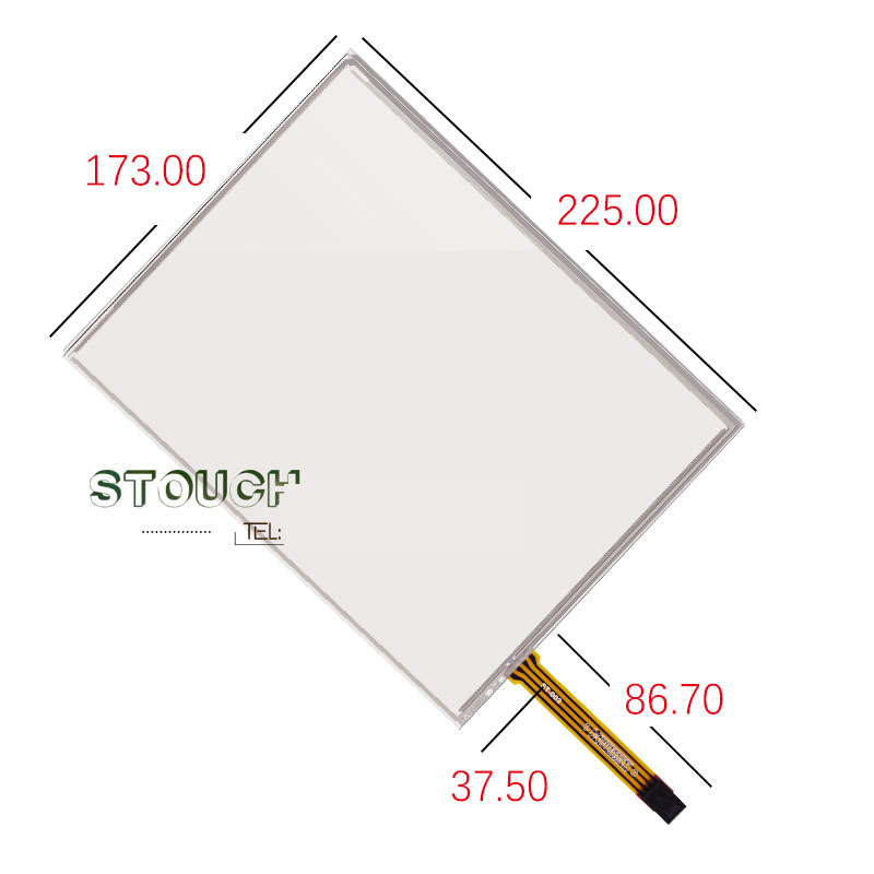 original new 10.4'' inch touch screen resistance four-wire textile machine industrial touch screen 173*225 new amt2507 amt 252710 4 inch 234 178 5 wire resistance flat knitting machine touch screen touch panel glass free delivery