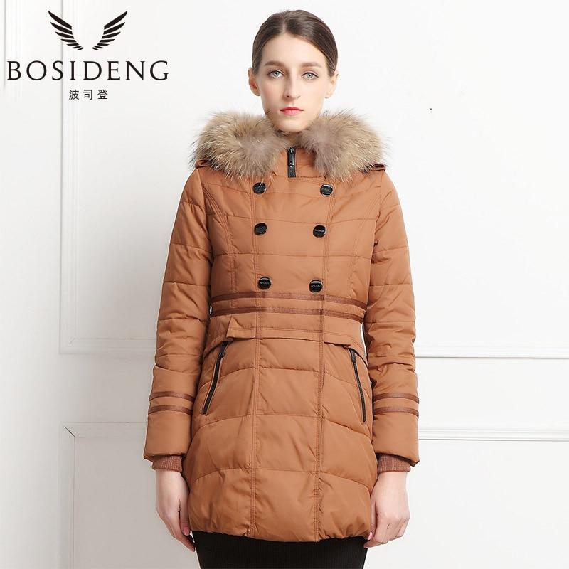 BOSIDENG winter font b women s b font clothing font b down b font coat thick