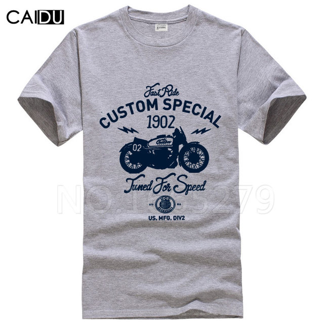 2017 New Design Motorcycle Printing T Shirts