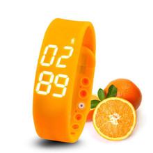 W2 Smart Watch Bracelet Smartband Phone Mate Pedometer Sleep Monitor Thermometer Track Calories Burned Flex Fitness Pulsera Band