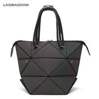 Geometry Laser Women Bao Bao Bags Women Shoulder Bag Transformation Luminous Laser Geometric Bag Diamond Lattice