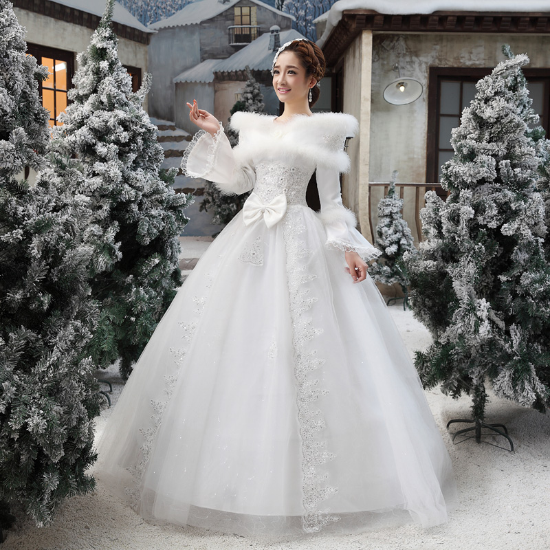 Winter Wedding Dress Formal Dress Winter 2013 Wedding