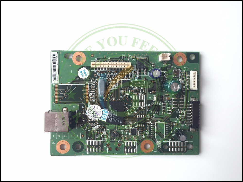 1PC ORIGINAL CE831-60001 FORMATTER PCA ASSY mother Formatter Board logic Main Board MainBoard for HP M1136 M1132 1132 1136 M1130 free shipping original cf387 60001 formatter board for hp m475 m476 m476dn 476dnw mainboard formatter board logic board
