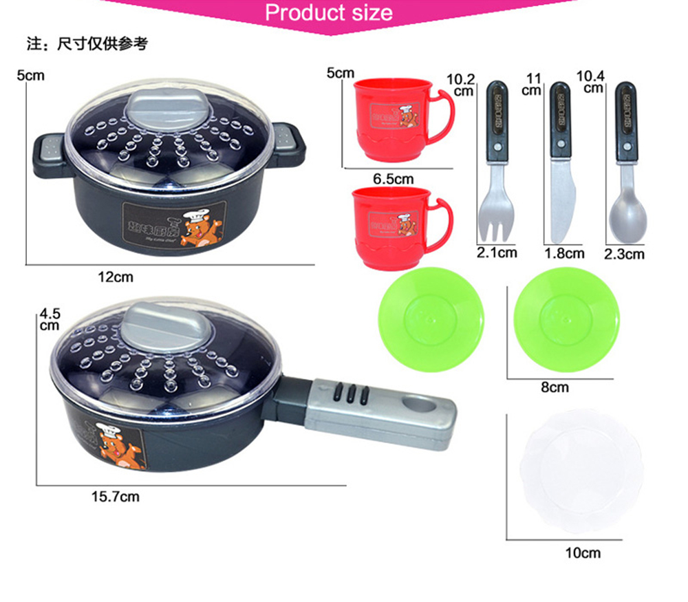 New 2 Types 1 Sets 37 Pcs Kitchen Plastic Pretend Play Food Children Toys With Music And Light Height is about 72 cm Toys Gifts (6)
