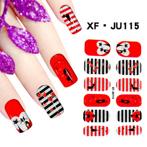 2018 New Promotion Manicure Nails Nail Sticker Fashion Beauty Nail Stickers Film Stickers