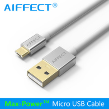 AIFFECT 3.3Ft 4.9Ft High Speed Micro USB 2.0 Cable Sync Data and Charging Cord for Mobile Phone Camera Laptop Tablet And More недорого