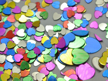 50Gram Mixed Color Metallic Heart Sequins Loose Tiny 3mm Nail Art