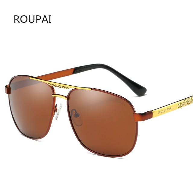 Préférence ROUPAI Marque De Luxe Logo lunettes de Soleil Homme 2017  GI64