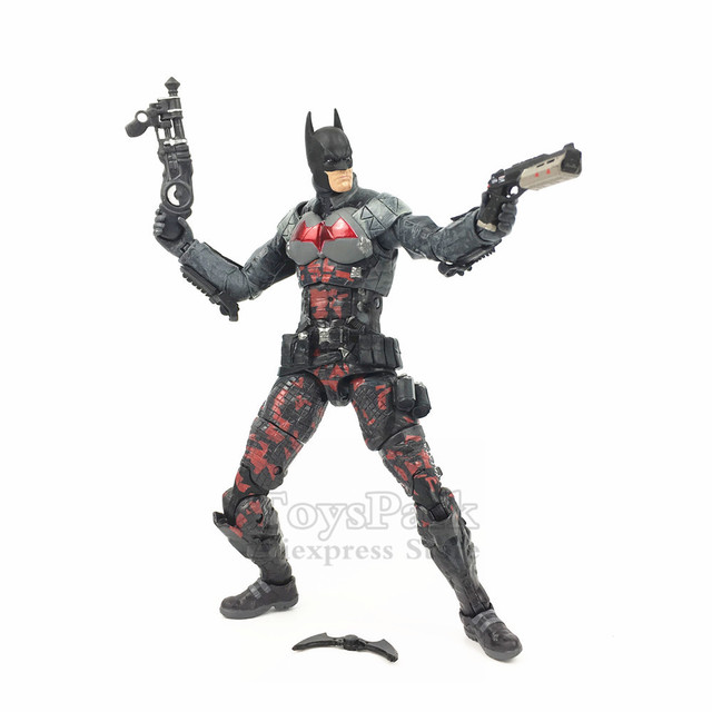 NEW Batman Arkham Knight 7″ Action Figure Batarang DC Collectibles Asylum RED HOOD Body Bat Man Doll Toys Model Ko's NECA Loose