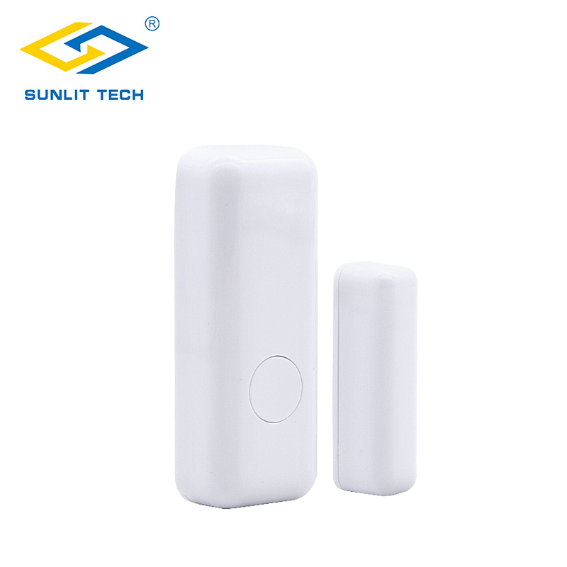 Wireless Door Contact Switch Mini Door Window Sensor for WIFI GSM Burglar Security Alarm Systems Detect Door Window Open yobangsecurity wireless door window sensor magnetic contact 433mhz door detector detect door open for home security alarm system