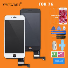 20pcs/lot OEM AAA LCD Touch Screen  For iphone 7 digitizer Assembly with 3D touch screen Replacement Black White Free DHL