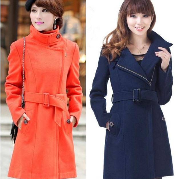Compare Prices on Ladies Long Wool Dress Coats- Online Shopping