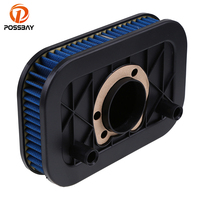 POSSBAY Motorcycle Air Filter Air Cleaner For Harley Sportster 883 1200 2004 2014 Motorbike Scooter Cafe Racer Air Filter