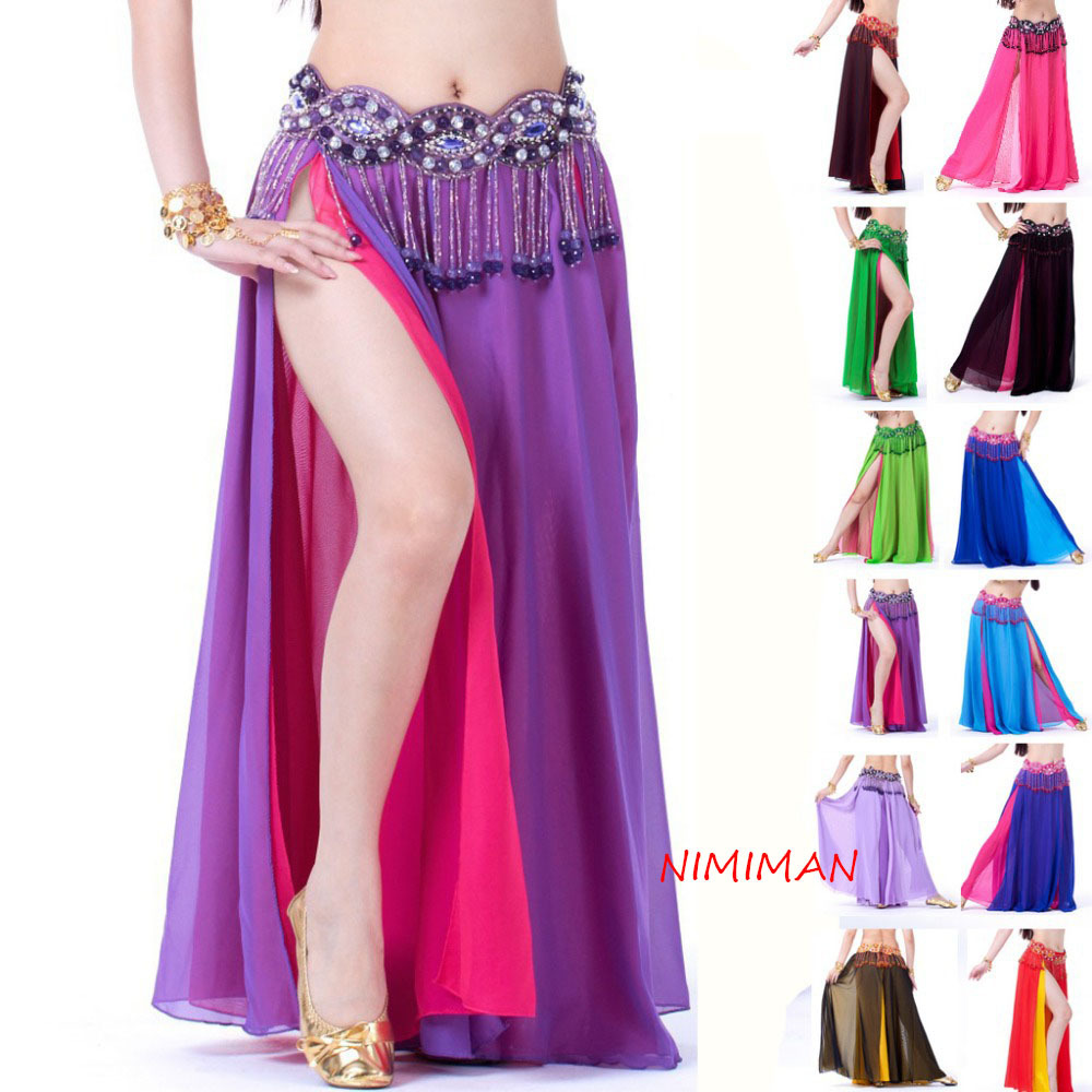 2018 High Quality Women Cheap Egyptian Belly Dance Costume Skirt On Sale NMMQ0010