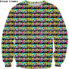 PLstar Cosmos 3D Printed Cute Animal panda colorful Harajuku Sweatshirt Women men pullover Hoodie long sleeve coat Unisex jacket
