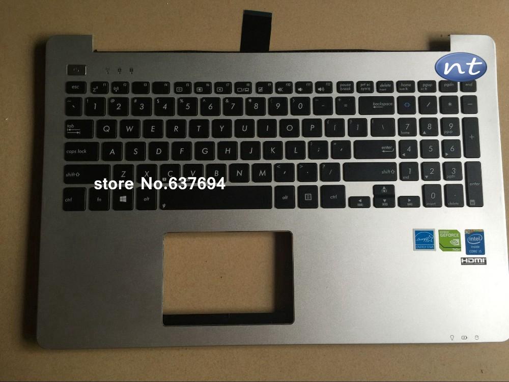 Prix pour Véritable Originale clavier avec cadre pour ASUS K551 K551L S551L S551LN V551 notebpok clavier de remplacement sans Touchpad