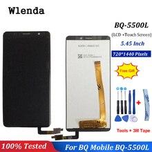 5,45 дюймов сенсорный для BQ мобильный BQ-5500L BQ 5500L Advance ЖК-дисплей с сенсорным экраном дигитайзер