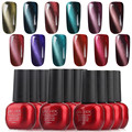 Gel Len 12pcs 3D Magnetic Cat Eyes Nail Gel Polish UV Soak Off Led Gel Lacquer Nail Art Salon Gel Varnish