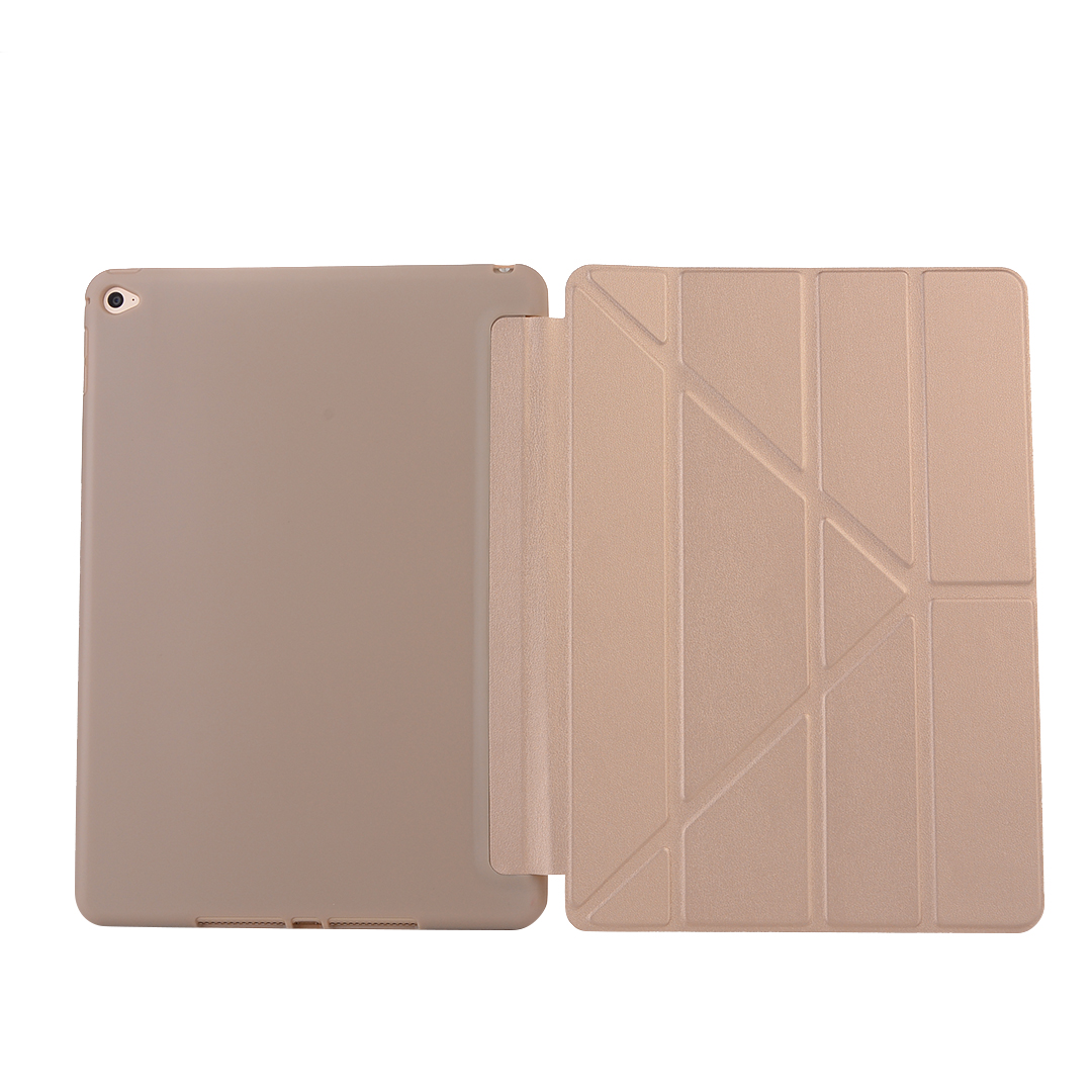 Viviration New TPU Anti-slip Soft Magnetic Stand Cover Case For Apple iPad Air 2 9.7 inch Smart Fashion Tab Holder Skin