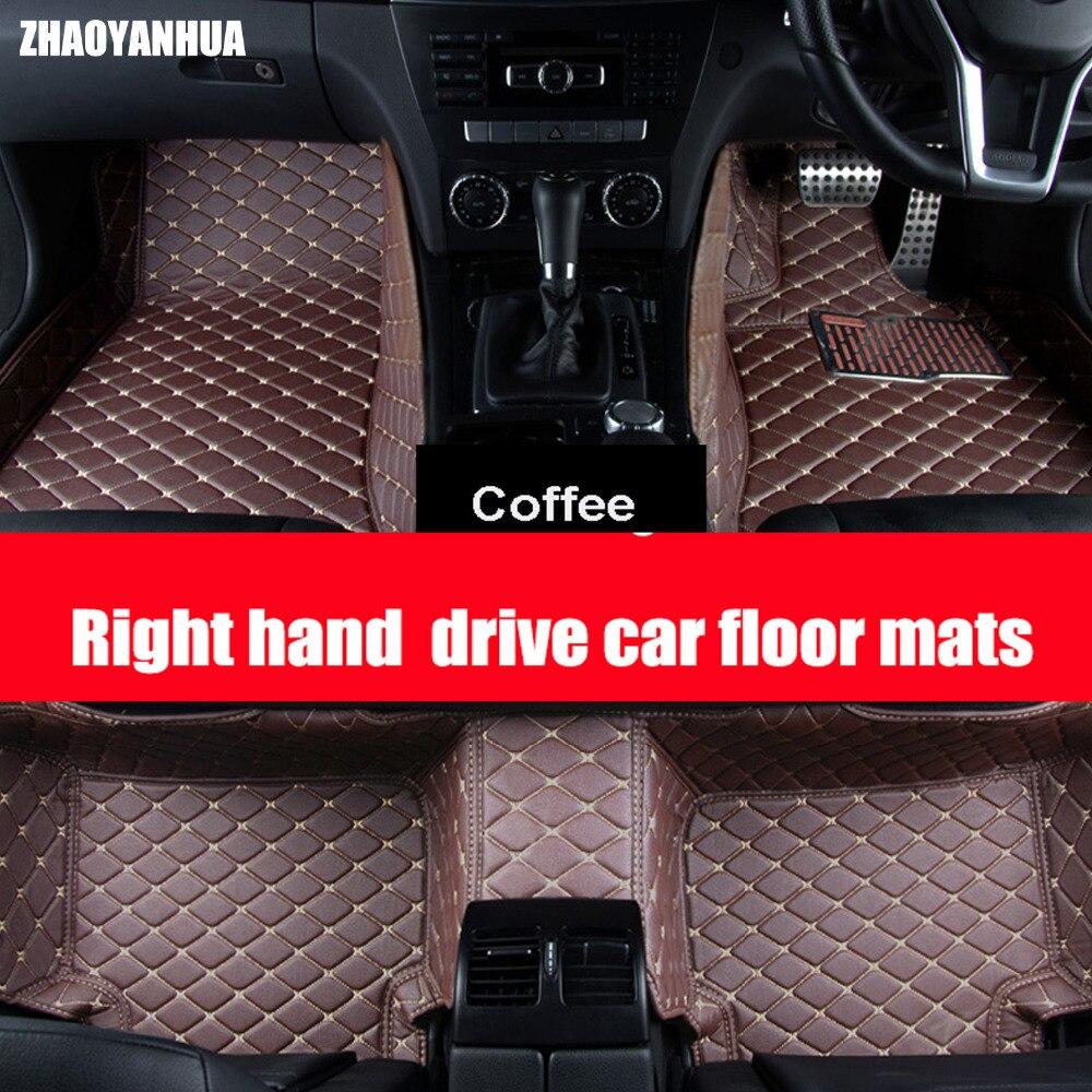 Zhaoyanhua custom fit car floor mats for chevrolet cruze malibu sonic trax captiva epica 5d car styling carpet floor liner