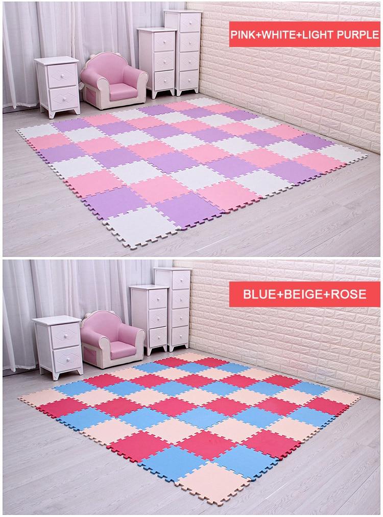 HTB1CiaVngnH8KJjSspcq6z3QFXaZ Baby EVA Foam Puzzle Play Mat /kids Rugs Toys carpet for childrens Interlocking Exercise Floor Tiles,Each:29cmX29cm