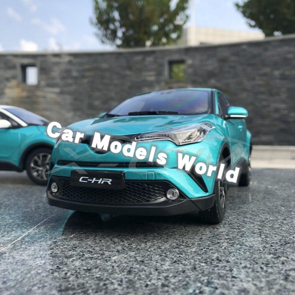 Diecast Car Model for C HR CHR 1 18 Green SMALL GIFT