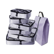 Packing Cubes Set Luggage Bags Organizers Durable Travel Accessories (Grey)(Red)(Green) Overnight Bag Duffle Weekend